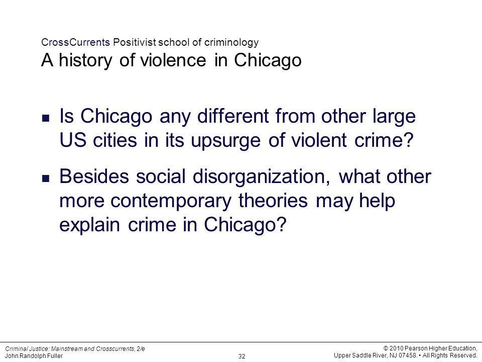 classical and positivist schools of criminology