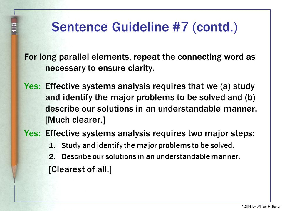 Sentence Guideline #7 (contd.)