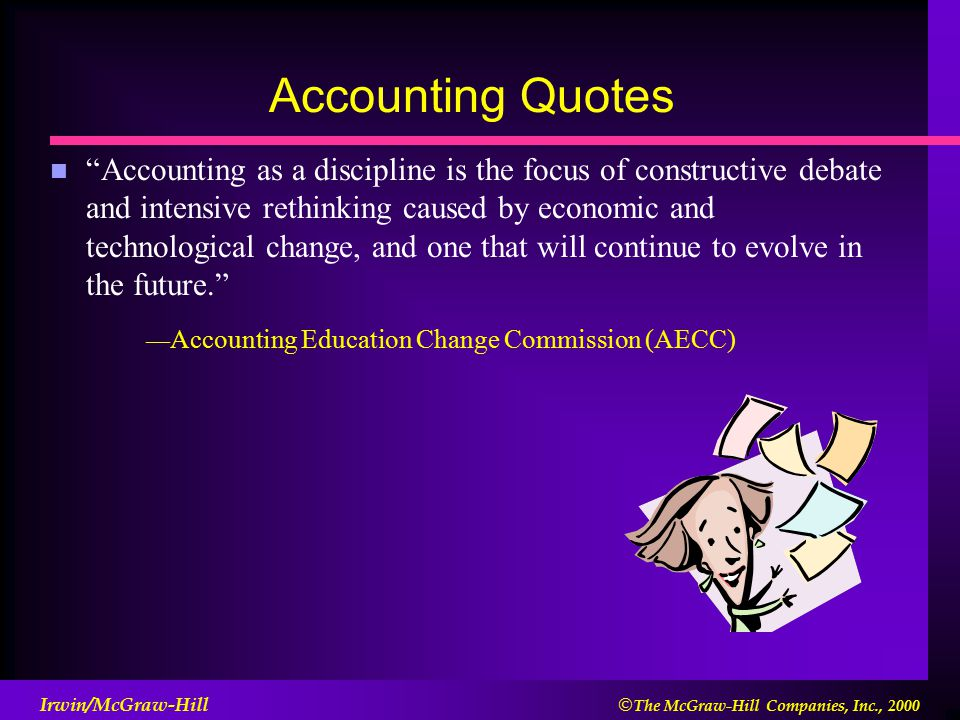 The Nature Of Accounting And Information Technology Ppt Video Enchanting Accounting Quotes