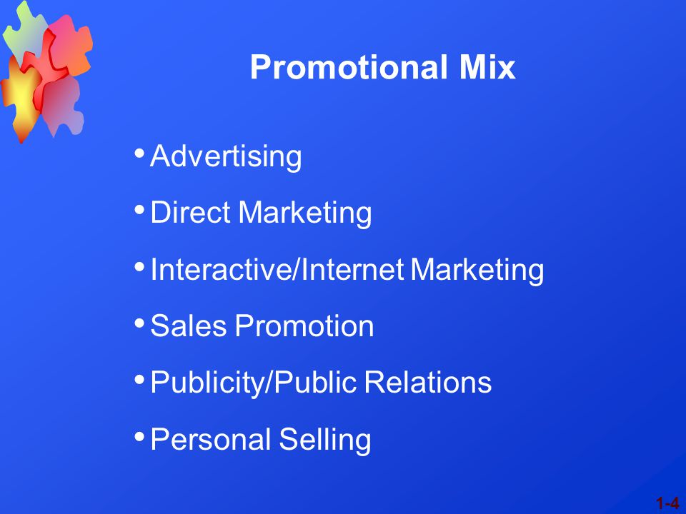 Promotional Mix Advertising Direct Marketing