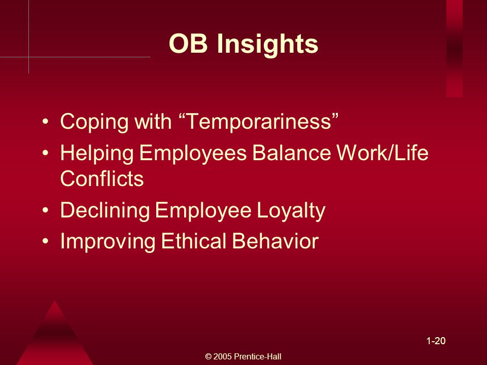OB Insights Coping with Temporariness