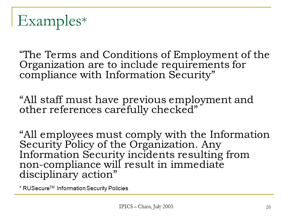 Information Systems Security Policies Iso Ppt Video Online Download