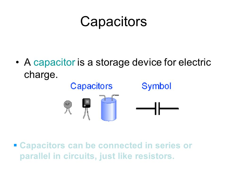 33 Cool Types Of Capacitors And Their Symbols Good An Ac Source
