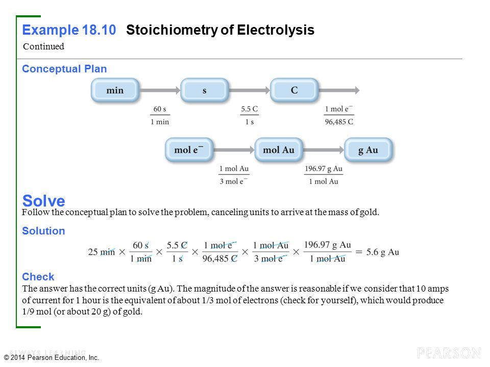 Chapter 18 Electrochemistry - ppt download