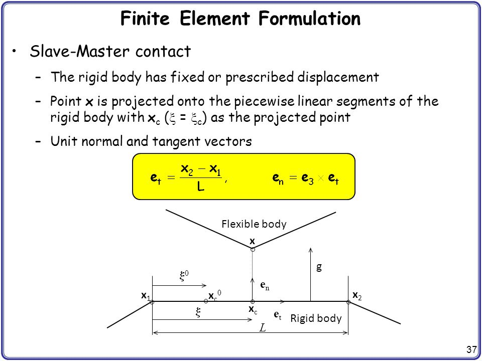 CHAP 5 Finite Element Analysis of Contact Problem - ppt