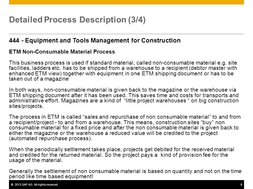 Detailed Process Description (3/4)