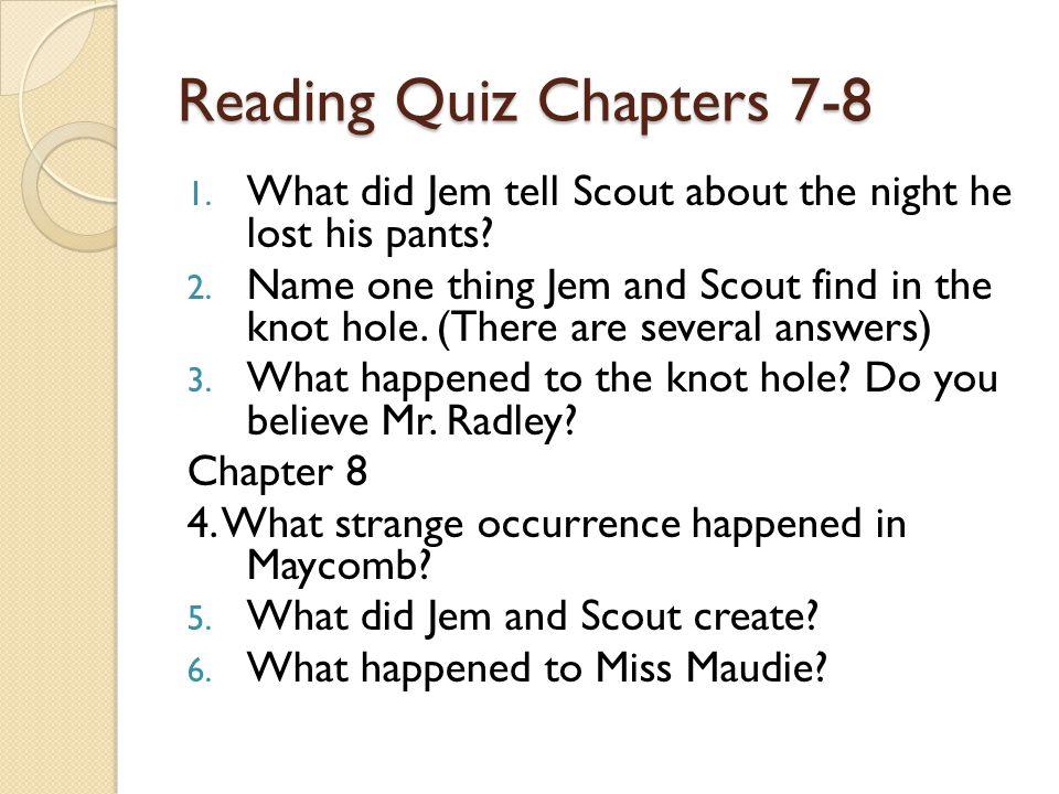 chapter 8 to kill a mockingbird summary