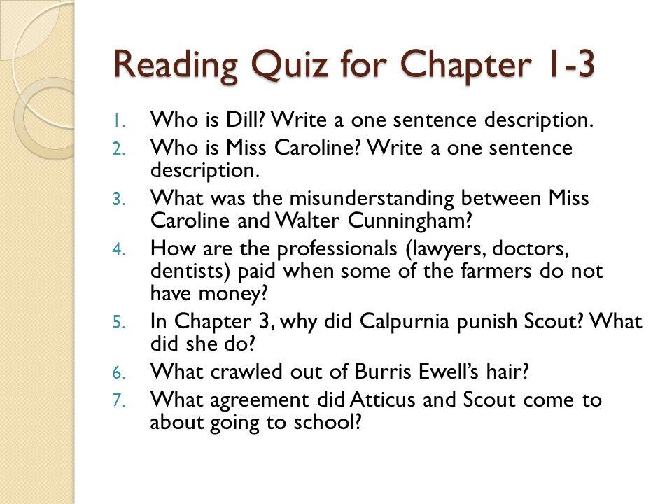 to kill a mockingbird chapters 1 8 summary