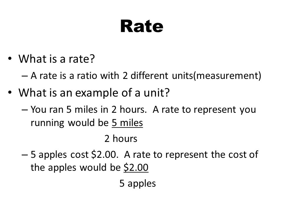 3 Rate What