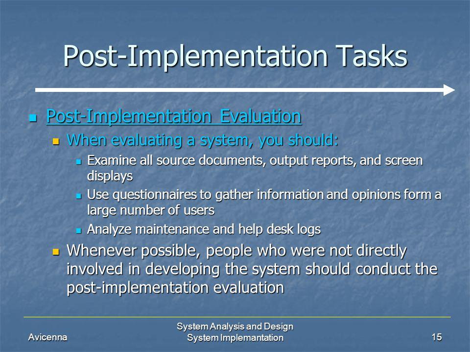 System Implementation Ppt Video Online Download