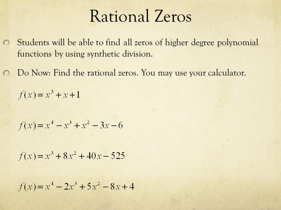Nth degree polynomial function calculator.