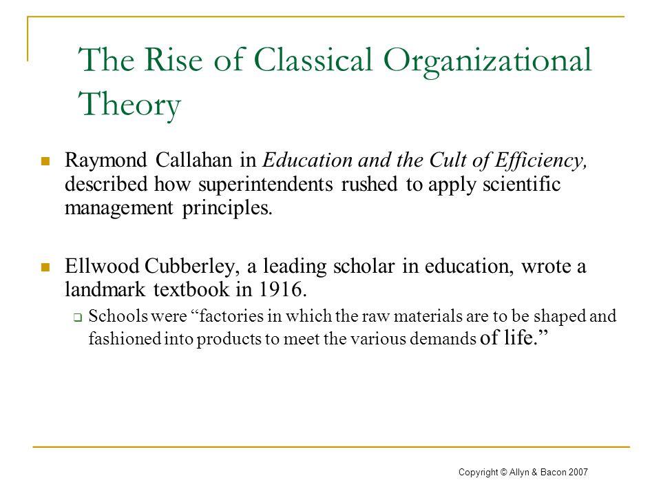 scientific management in education