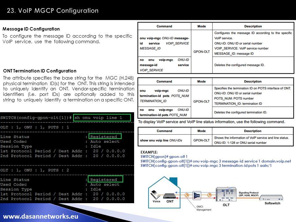 DASAN NETWORKS GPON Training - ppt download