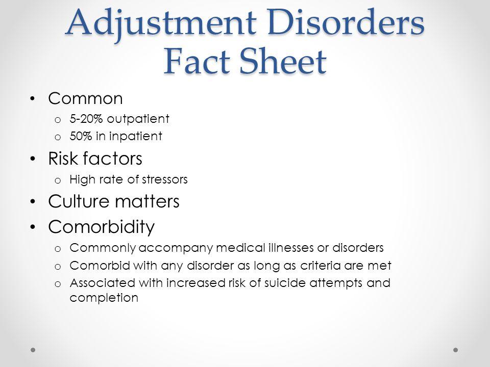 anxiety disorder fact sheet pdf