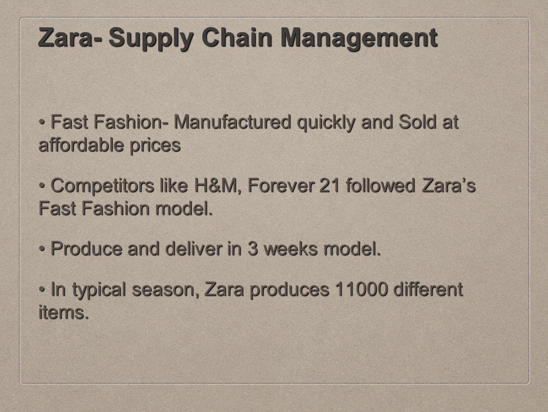 BEST PRACTICES IN SUPPLY CHAIN MANAGEMENT AT ZARA - ppt video online ... 2da74b2b64e