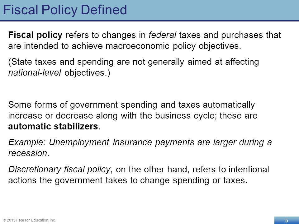 macroeconomic policy definition