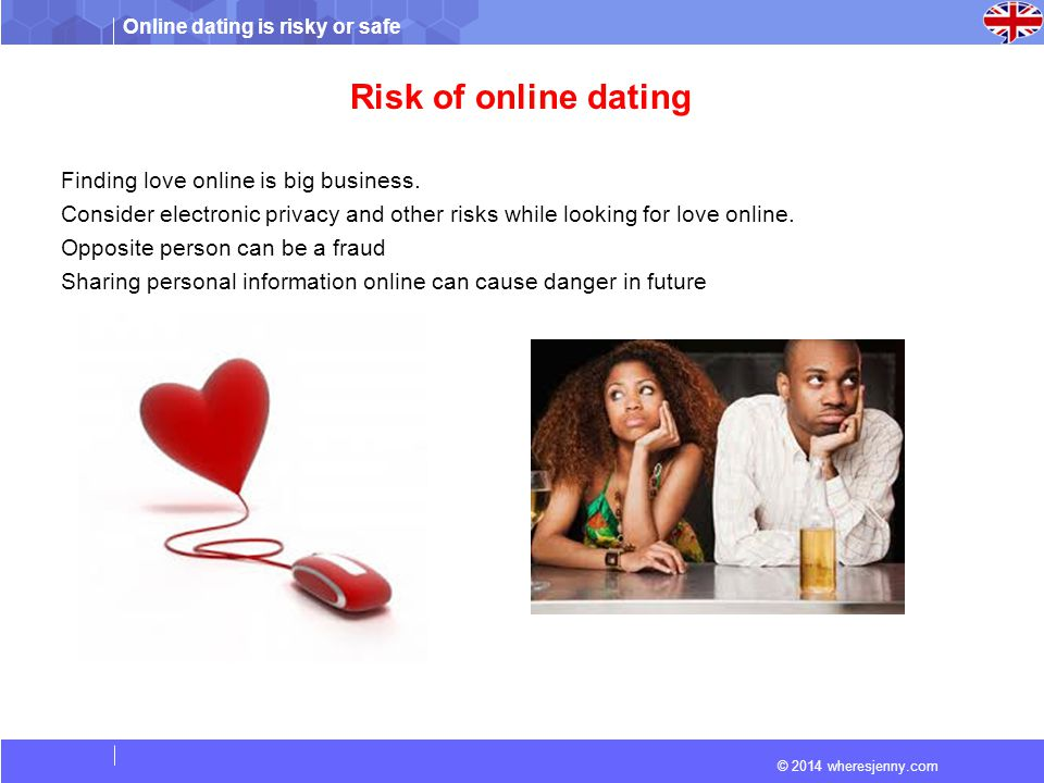 why is internet dating dangerous