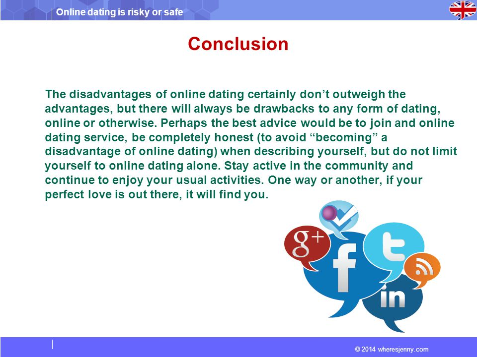 What is the advantage of online dating