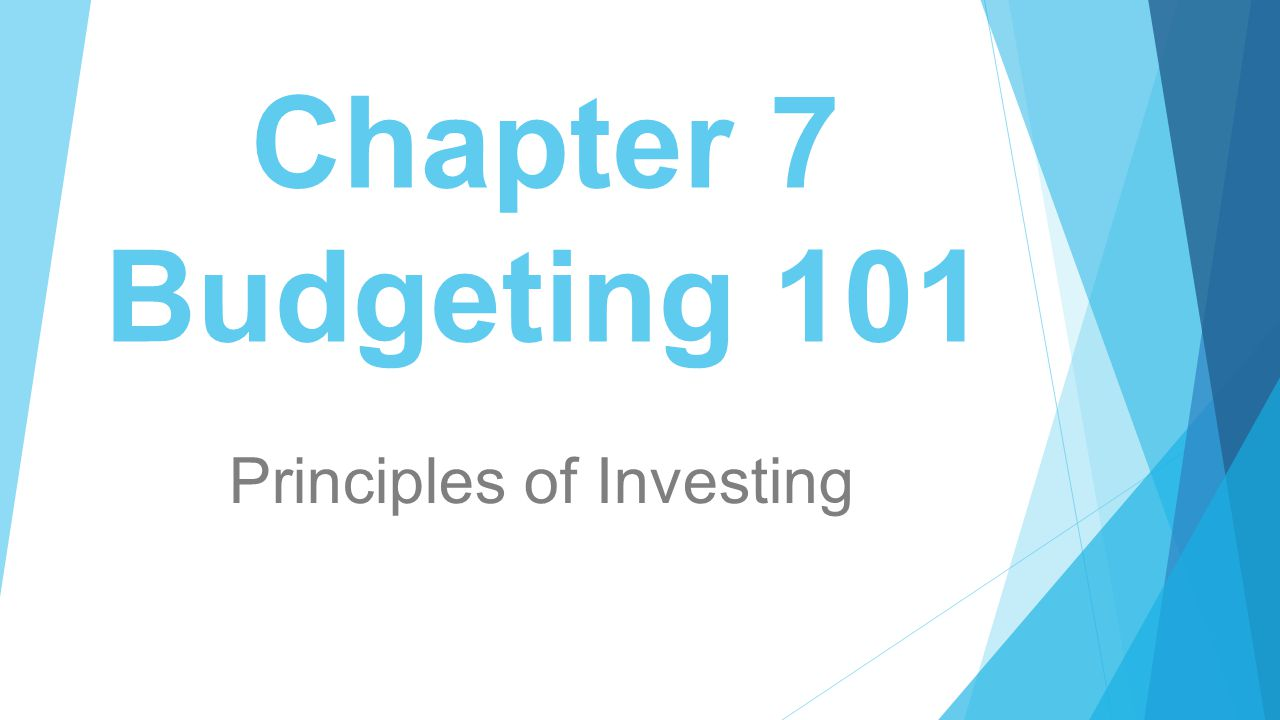 Principles of Investing - ppt download