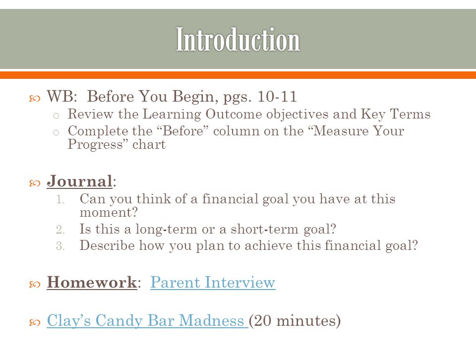 Chapter 1 Foundations In Personal Finance Ppt Video