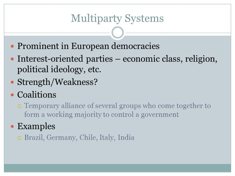 strengths and weaknesses of coalition government