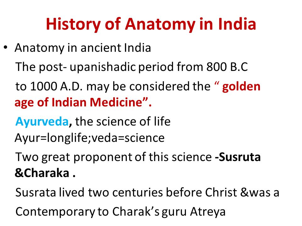 History Of Anatomy By Prof A K Srivastava Hod Anatomy Ppt