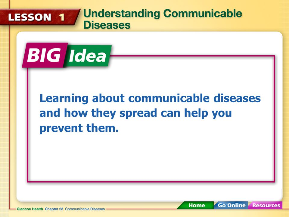 Learning about communicable diseases and how they spread can help you prevent them.