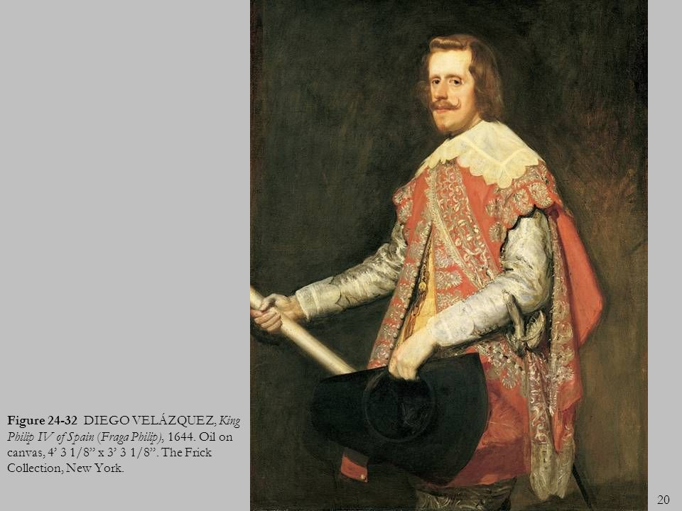Figure 24-32 DIEGO VELÁZQUEZ, King Philip IV of Spain (Fraga Philip), 1644.