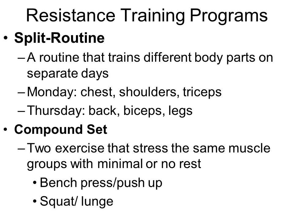 designing resistance training programs pdf
