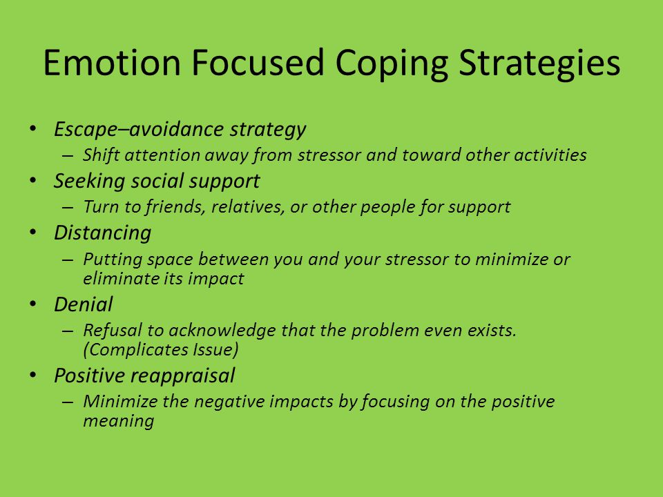 When We Feel Severe Stress Our Ability To Cope With It Is Impaired