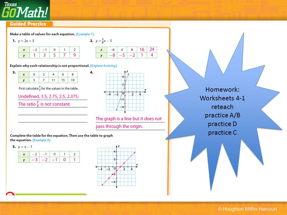 Representing Linear Nonproportional Relationships Ppt Video Online