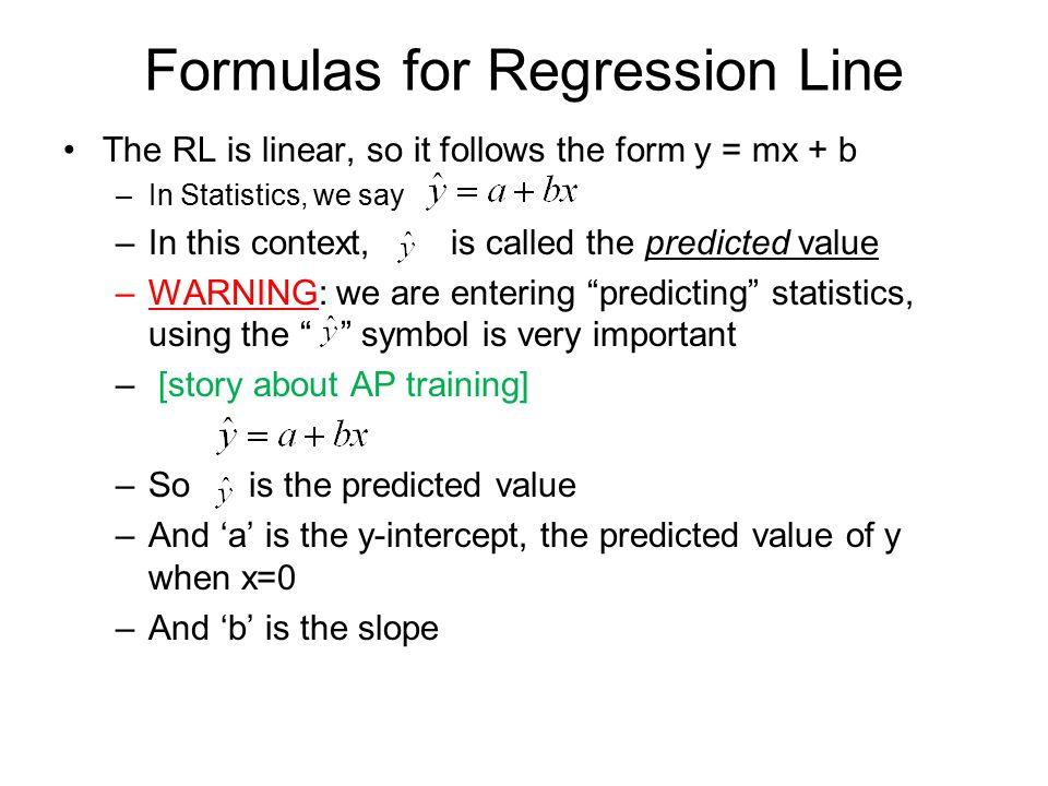 Least Squares Regression Linear Regression Ppt Download