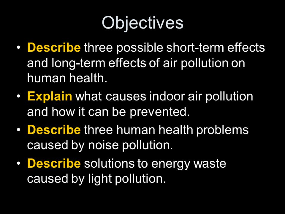Section 2: Air, Noise, and Light Pollution - ppt video