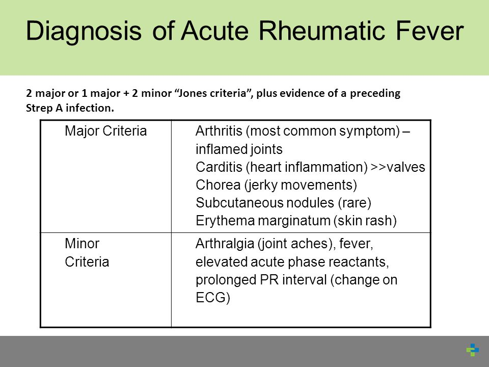 Rheumatic fever adult knows