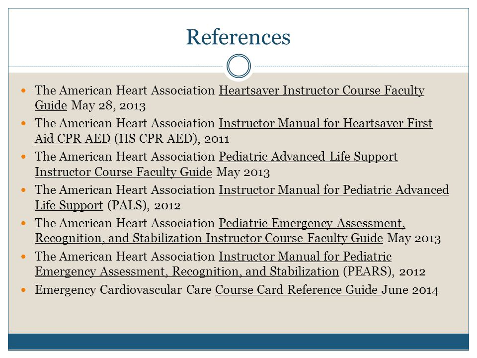 instructor guide to post course reports ppt download rh slideplayer com AHA Heartsaver First Aid Algorithms AHA CPR