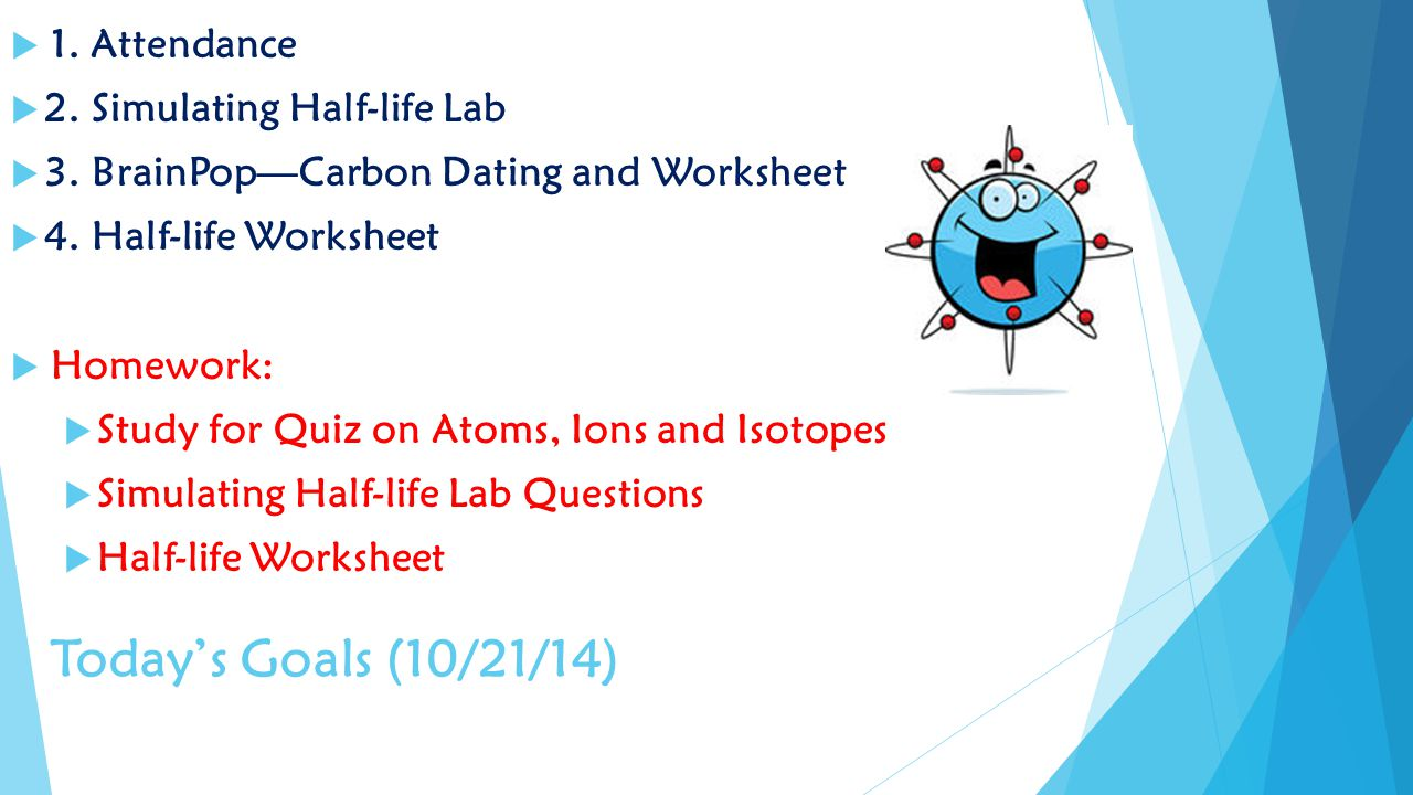 Brainpop carbon dating answers
