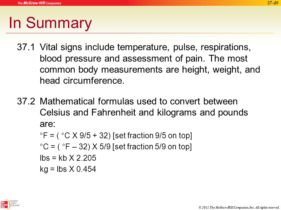 Obtaining Vital Signs And Measurements Ppt Video Online Download