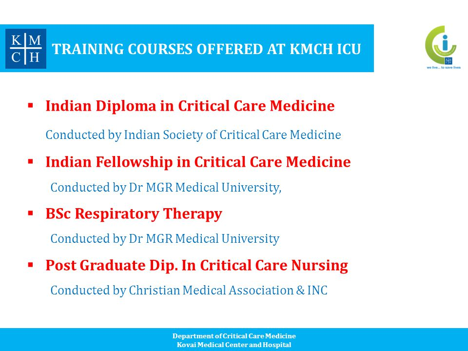 Department of Critical Care Medicine - ppt video online download