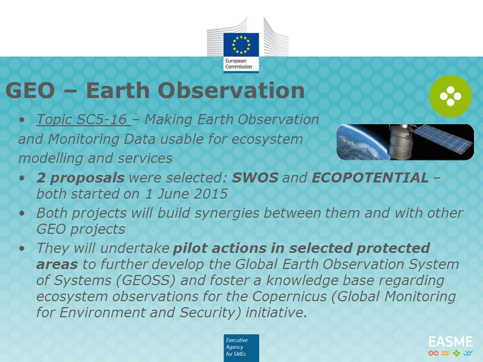 GEO – Earth Observation