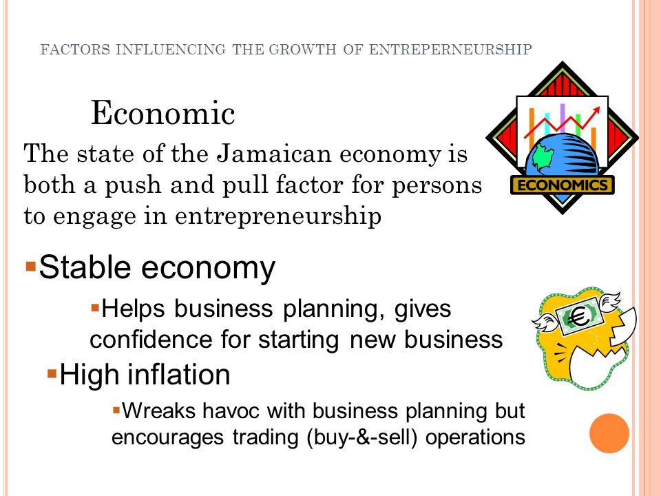 push and pull factors in entrepreneurship