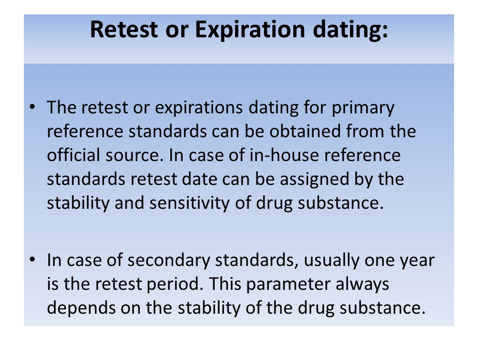 usp nf expiration dating