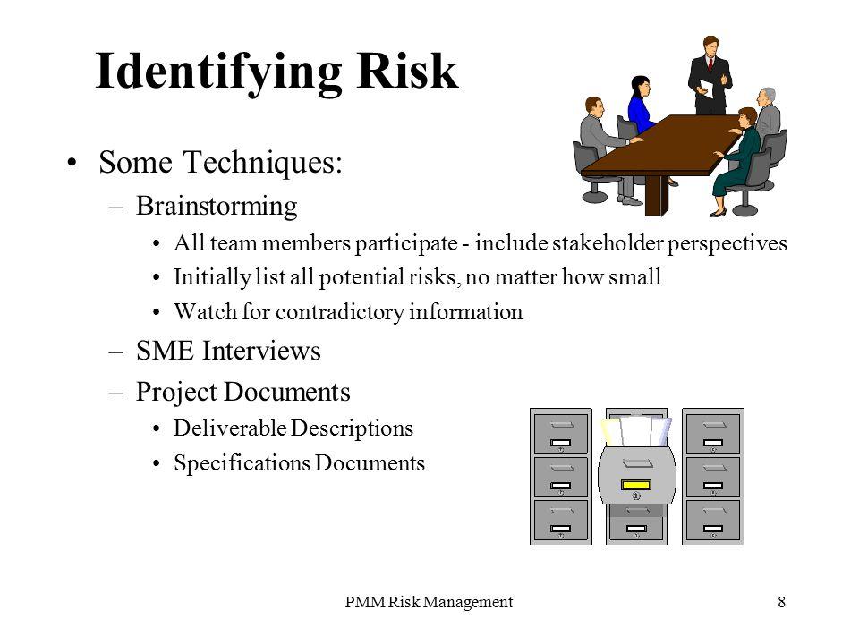 risk management techniques in insurance pdf