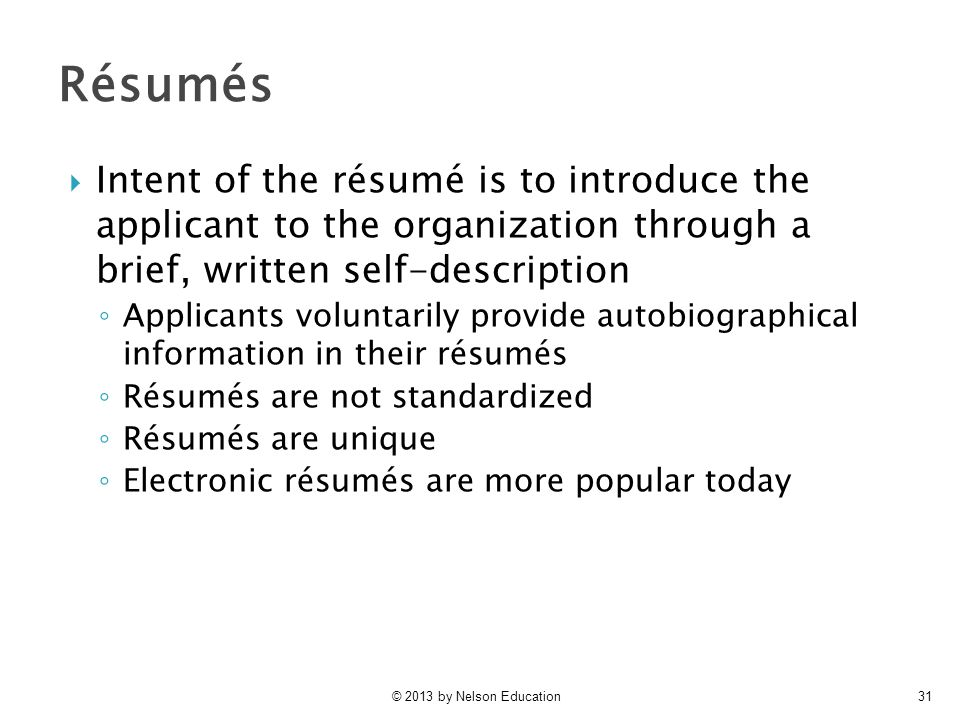 Selection I Applicant Screening Ppt Video Online Download