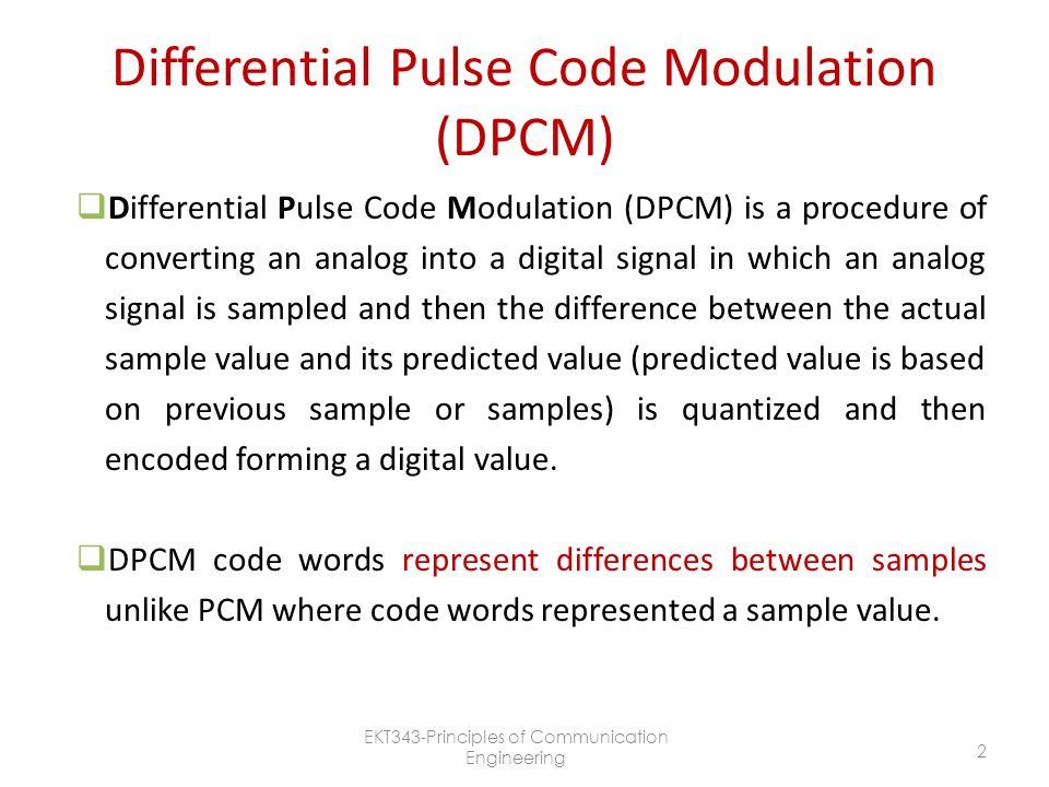 Pulse Modulation CHAPTER 4 Part 3 - ppt video online download