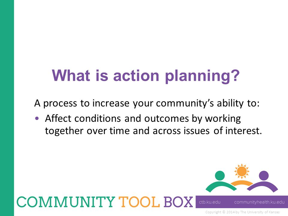 What is action planning