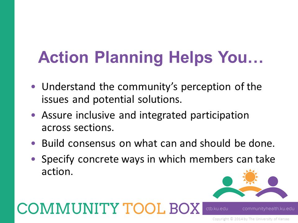 Action Planning Helps You…