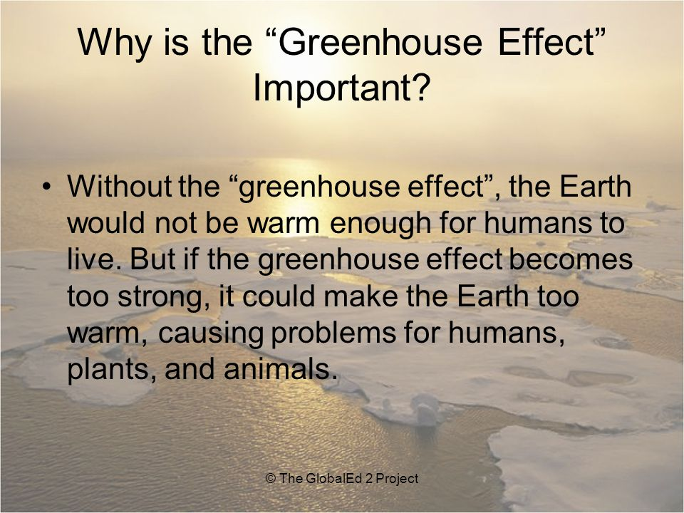Why is the Greenhouse Effect Important