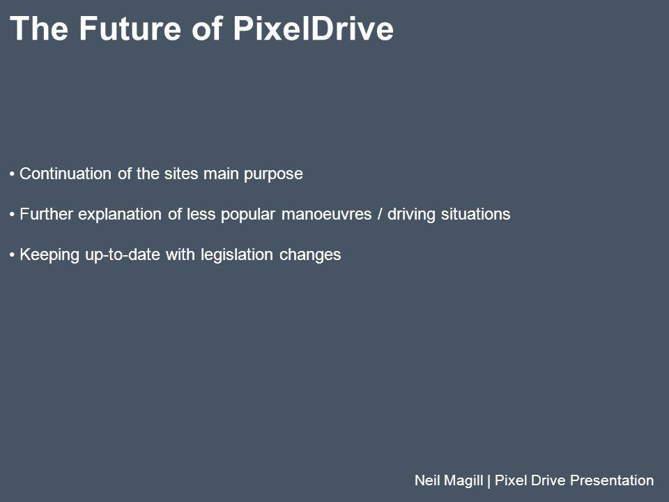 The Future of PixelDrive