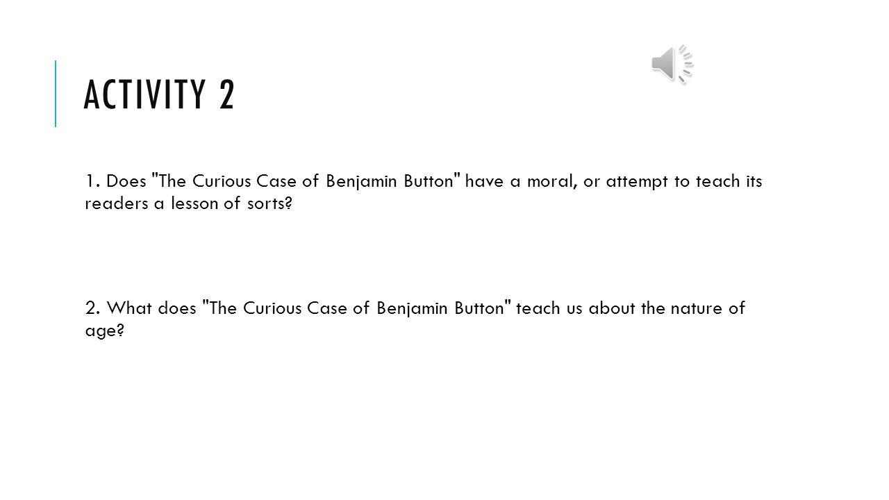 the curious case of benjamin button essay