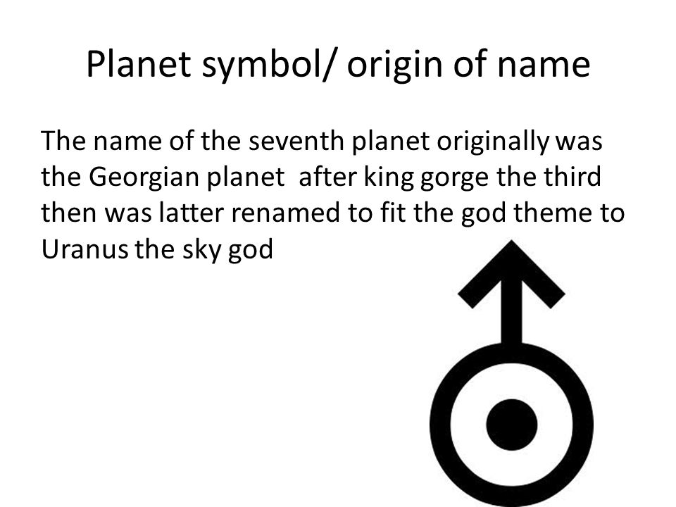 Uranus Planetary Symbol Image Collections Meaning Of This Symbol
